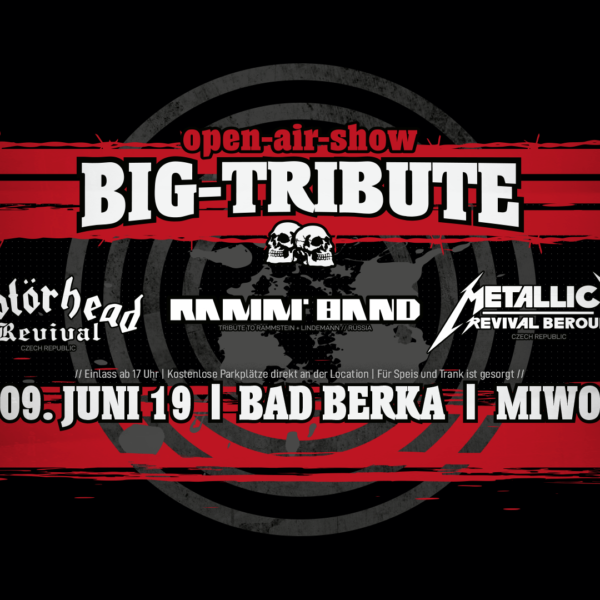 MIWO-Events - Eventspark Thüringen - Open-Air-Show - Big-Tribute - 09.06.2019